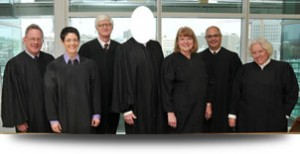 Who will fill the robe of Colorado Supreme Court Justice Michael Bender?