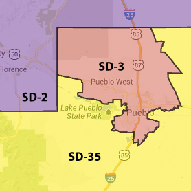 Colorado Senate District 3.
