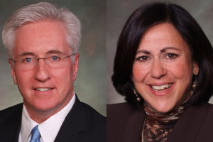 Recalled Colorado Senators John Morse and Angela Giron.