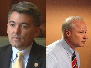 GOP Reps. Cory Gardner and Mike Coffman.