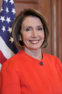 Rep. Nancy Pelosi (D).