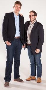 House Speaker Mark Ferrandino, right, is backing Alec Garnett as his successor in HD-2.