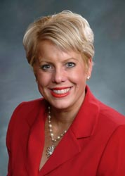 Pueblo County Commissioner Liane McFadyen.