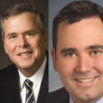 Jeb Bush, Walker Stapleton.