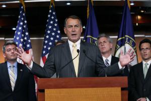House Speaker John Boehner (R).