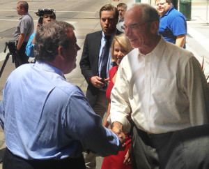 Chris Christie and Bob Beauprez.