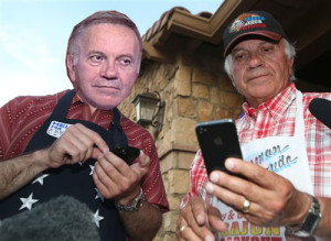 Tom Tancredo with top consultant, Tom Tancredo
