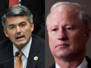 Sen. Cory Gardner and Rep. Mike Coffman.