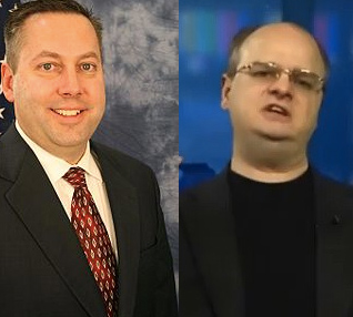 Former Rep. Mark Waller, Rep. Gordon Klingenschmitt.