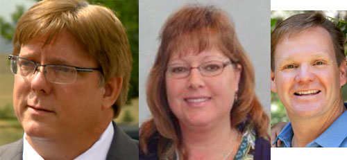 Ken Witt, Julie Williams, and John Newkirk