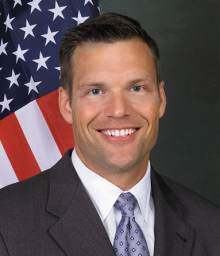 Kansas Secretary of State Kris Kobach (R).