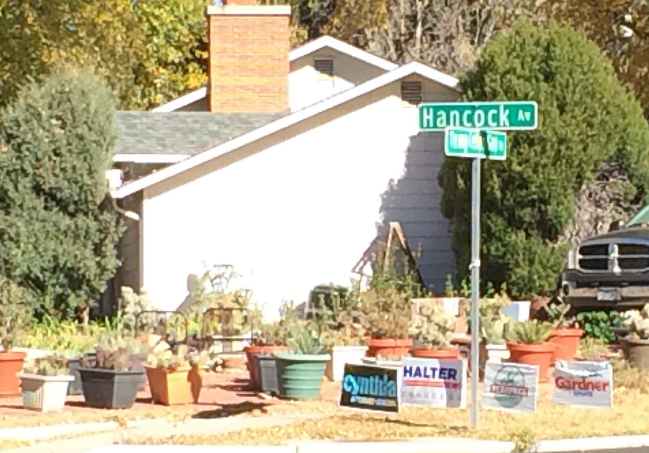Halter Signs Indicate CO Springs Revolt Against Lamborn 2