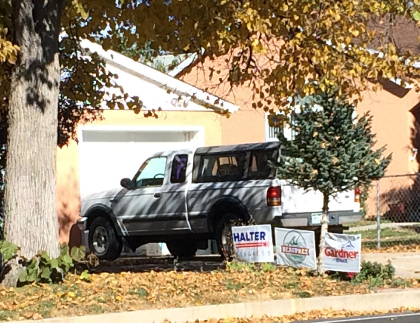 Halter Signs Indicate CO Springs Revolt Against Lamborn 3
