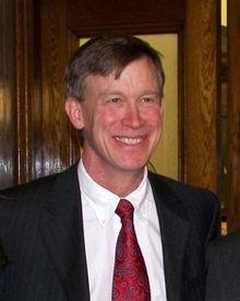 Gov. John Hickenlooper.