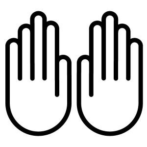 How many fingers am I holding up?
