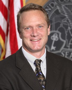 Denver city council member Chris Nevitt