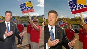 Lang Sias and the vanishing Tea Party endorsement.