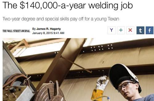 Welding Story