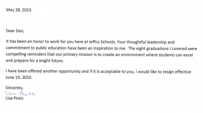 BREAKING: Lisa Pinto Resigns From Jeffco Schools - Colorado Pols