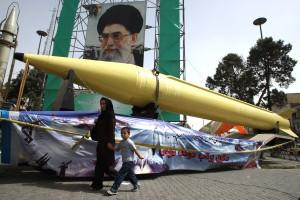 Iranian Shahab missile.