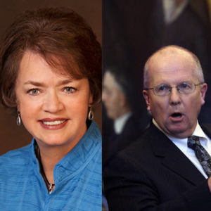 Utah's EPA conspiracy theorist lawmakers: Sen. Margaret Dayton (R), Rep. Mike Noel (R).