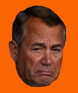 Sad John Boehner