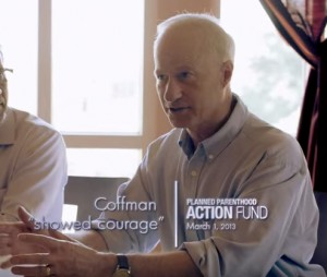 Still from Rep. Mike Coffman's 2014 ad using Planned Parenthood's logo.