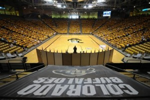 CU-Boulder's Coors Events Center.
