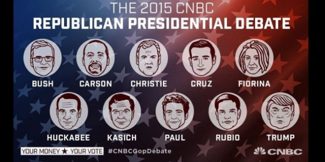 Oct. 28 GOP Presidential Debate in Boulder, CO.