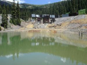 Standard Mine Superfund site near Crested Butte.