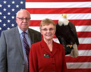 GOP Rep. JoAnn Windholz (center).