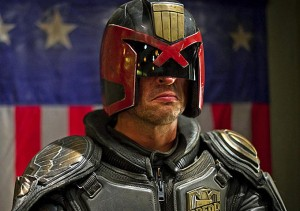 Judge Dredd is not really a judge.