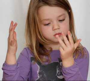 counting-on-fingers