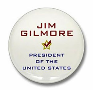 You could win this Jim Gilmore for President button!