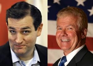 U.S. Sen. Ted Cruz (R), state Sen. Tim Neville (R).