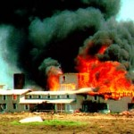 The Waco siege.