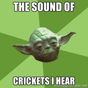 YodaCrickets