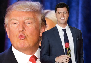 Donald Trump, Ben Higgins.