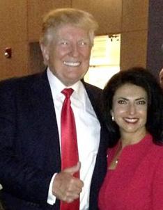 Donald Trump, Rep. Clarice Navarro.