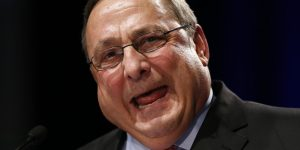 Maine Gov. Paul LePage may have a bit of an anger management problem.