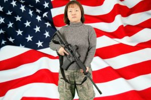 Libertarian U.S. Senate candidate Lily Tang Williams.
