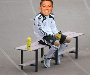 Cory Gardner IS the GOP bench, whatever it is.