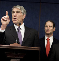 Sens. Mark Udall (D-CO) and Ron Wyden (D-OR).