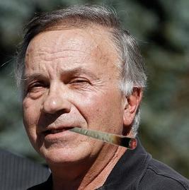 Dramatization. Tom Tancredo does not smoke weed.