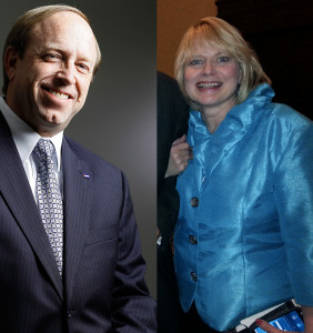 Attorney General John Suthers and chief deputy AG Cynthia Coffman.
