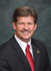 State Sen. Steve King (R), man of many time cards.