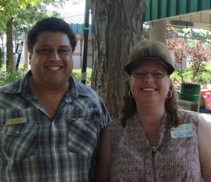 GOP state senate candidate Tony Sanchez and Jeffco board member Julie Williams.
