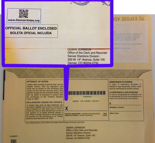 Pennies For Your Thoughts: El Paso County Ballots Scrap