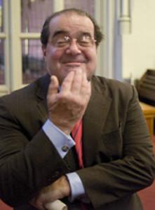 Former U.S. Supreme Court Justice Antonin Scalia.