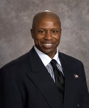 Darryl Glenn, the new favorite in the race for the Republican Senate nomination.
